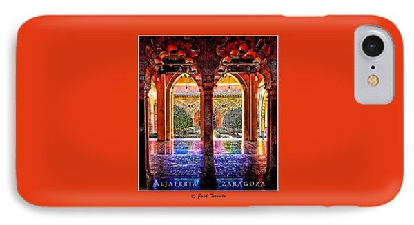 IPhone Case featuring the photograph Aljaferia Coloratura by Jack Torcello