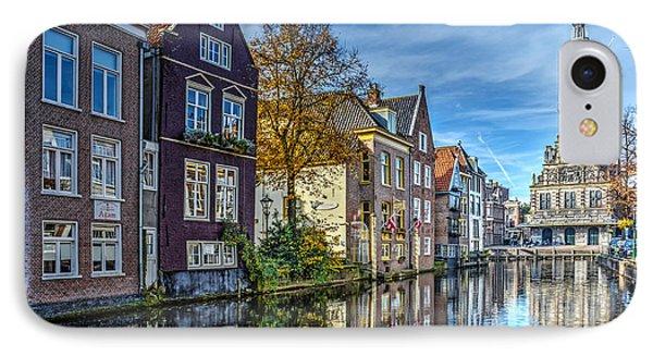 Alkmaar From The Bridge IPhone Case by Frans Blok