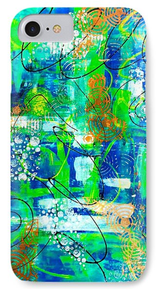 All A Whirl IPhone Case by Julie Hoyle