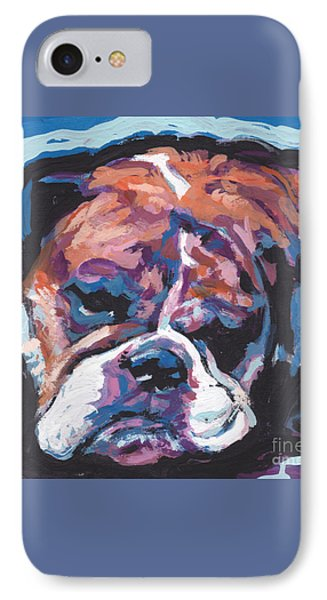 All Bull Love IPhone Case by Lea S