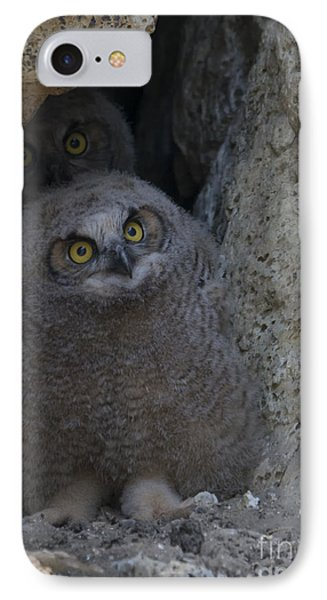 All Eyes IPhone Case by Mike Dawson