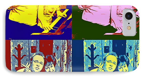 All In The Family Pop Art IPhone Case