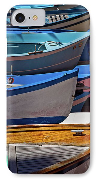 All Lined Up IPhone Case by Roger Mullenhour