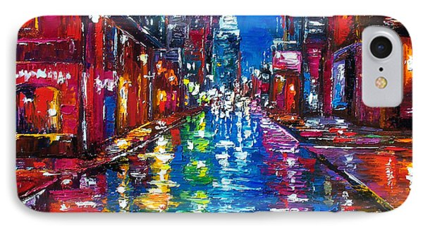All Night Long IPhone Case by Debra Hurd