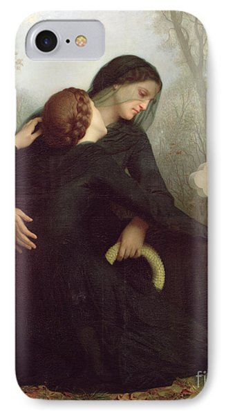 All Saints Day IPhone Case by William Adolphe Bouguereau