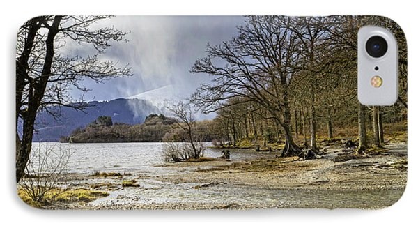 IPhone 7 Case featuring the photograph All Seasons At Loch Lomond by Jeremy Lavender Photography