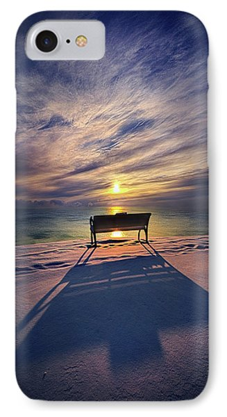 IPhone Case featuring the photograph All Shadows Chase Swift by Phil Koch