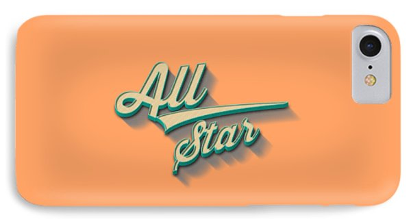 All Star Tee IPhone Case