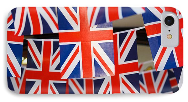 IPhone Case featuring the photograph All Things British by Digital Art Cafe