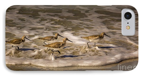 Sandpiper iPhone 7 Case - All Together Now by Marvin Spates