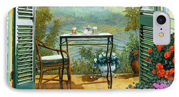 Alle Dieci Del Mattino IPhone Case by Guido Borelli