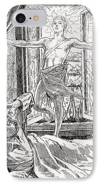 Allegorical Illustration Depicting The IPhone Case by Vintage Design Pics