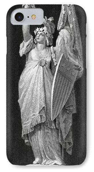 Allegory: Columbia, 1870 Phone Case by Granger