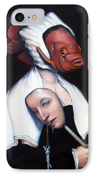 Allegory Of Fishing Phone Case by Patrick Anthony Pierson