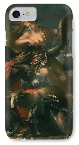 Allegory Of Fortune IPhone Case by Mountain Dreams