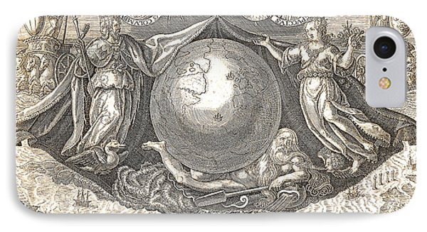 Allegory Of West Indies Or Americas IPhone Case by Theodore de Bry