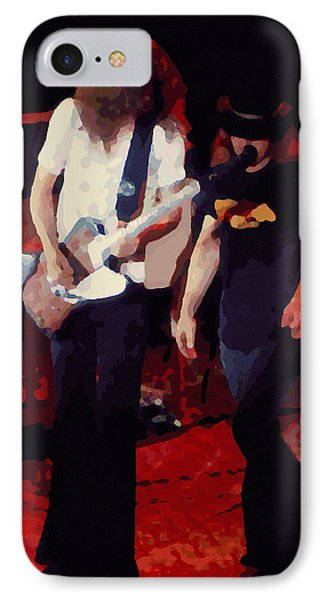 IPhone Case featuring the photograph Allen And Ronnie Winterland 1 by Ben Upham