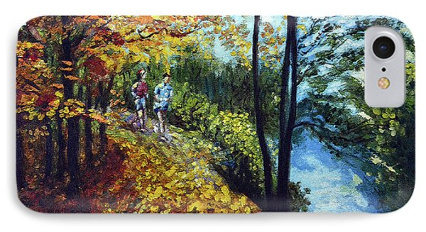 Alley By The Lake 1 Phone Case by Harsh Malik