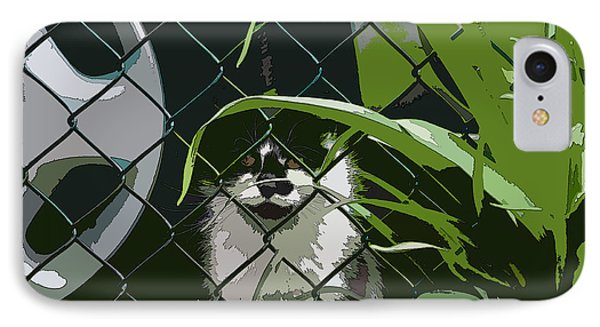 Alley Cat IPhone Case by Reb Frost