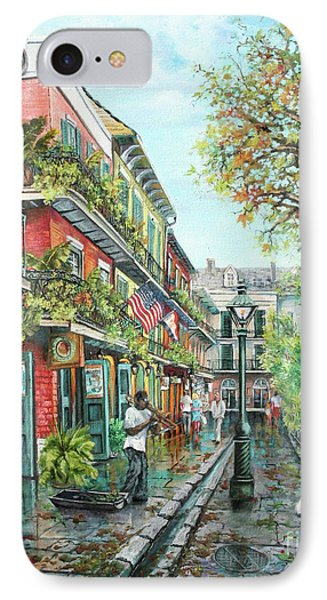Alley Jazz Phone Case by Dianne Parks