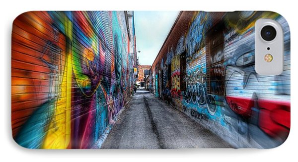 IPhone Case featuring the photograph Alley by Michaela Preston