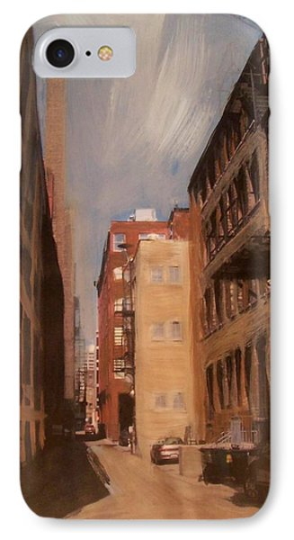 Alley Series 1 IPhone Case by Anita Burgermeister