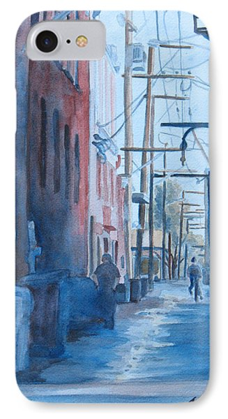 Alley Shortcut Phone Case by Jenny Armitage