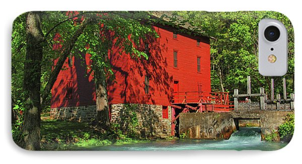 Alley Spring Mill IPhone Case