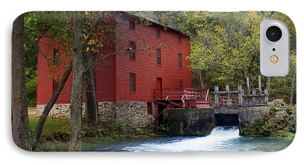 Alley Sprng Mill 3 IPhone Case by Marty Koch