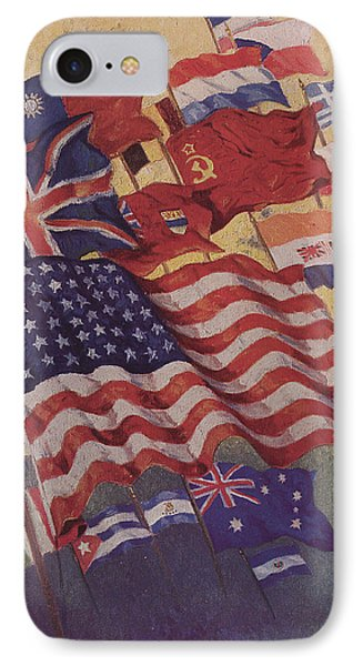 Allied Flags - World War II  IPhone Case