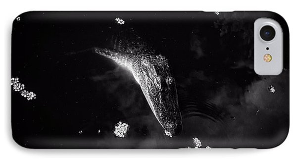 Alligator Float IPhone Case by Greg Mimbs