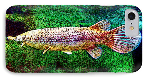 Alligator Gar Fish  IPhone Case by Merton Allen
