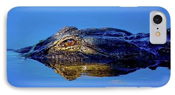 Alligator Sunrise IPhone Case by Mark Andrew Thomas