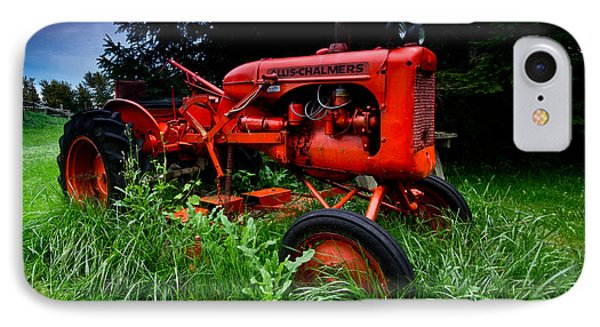 Allis Chalmers Tractor IPhone Case by Cale Best