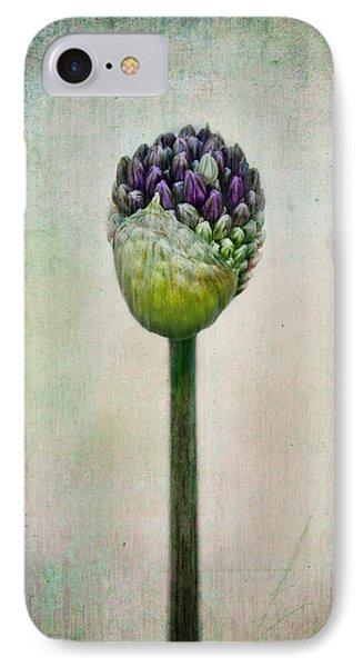 Allium Bud IPhone Case