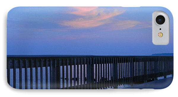 IPhone Case featuring the photograph Alls Quiet On The Beach Front by Emmy Marie Vickers
