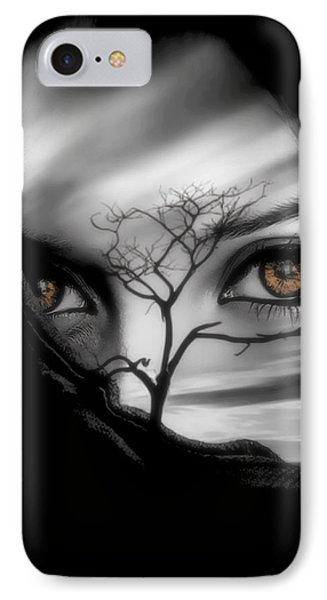 Allure Of Arabia Brown IPhone Case by ISAW Gallery