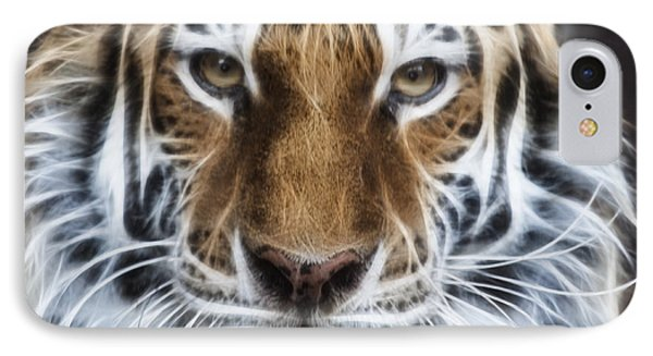Alluring Tiger IPhone Case by Jeff Swanson
