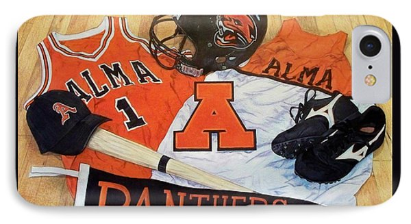 Alma High School Athletics IPhone Case