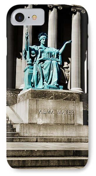 Alma Mater IPhone Case by Marilyn Hunt