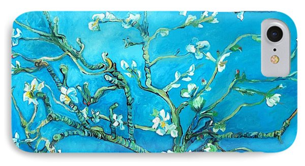 Almond Blossom IPhone Case by Eric  Schiabor