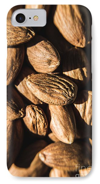 IPhone Case featuring the photograph Almond Nuts by Jorgo Photography - Wall Art Gallery