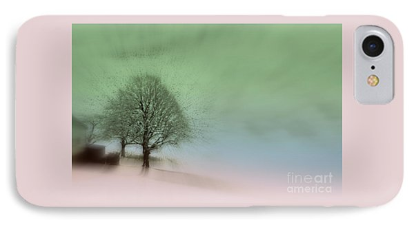 IPhone Case featuring the photograph Almost A Dream - Winter In Switzerland by Susanne Van Hulst