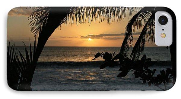 Aloha Aina The Beloved Land - Sunset Kamaole Beach Kihei Maui Hawaii Phone Case by Sharon Mau