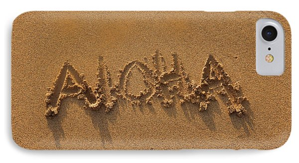Aloha In The Sand IPhone Case