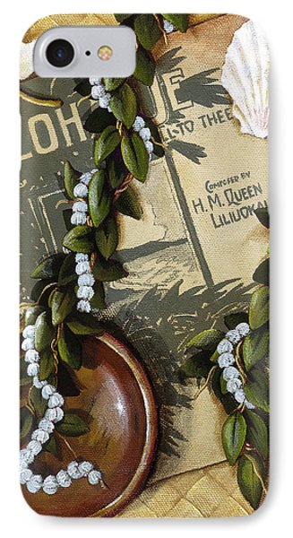 Aloha Oe Phone Case by Sandra Blazel - Printscapes