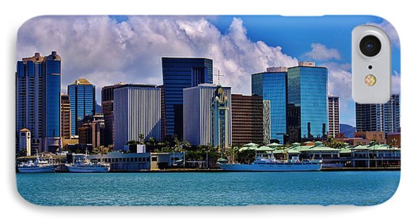 Aloha Tower Downtown IPhone Case