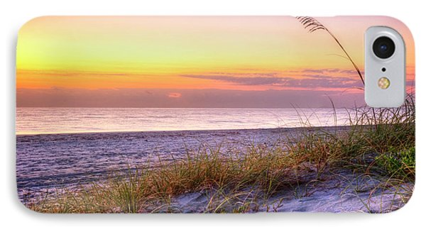IPhone Case featuring the photograph Alone At Dawn by Debra and Dave Vanderlaan