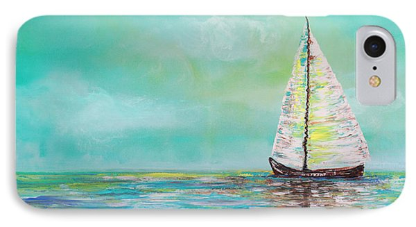 Alone At Sea IPhone Case