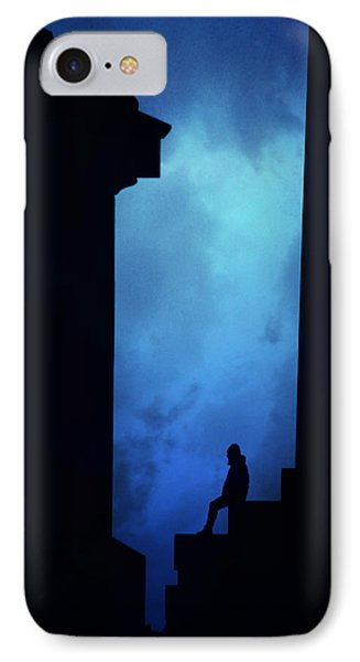 Alone In The City- Edinburgh IPhone Case